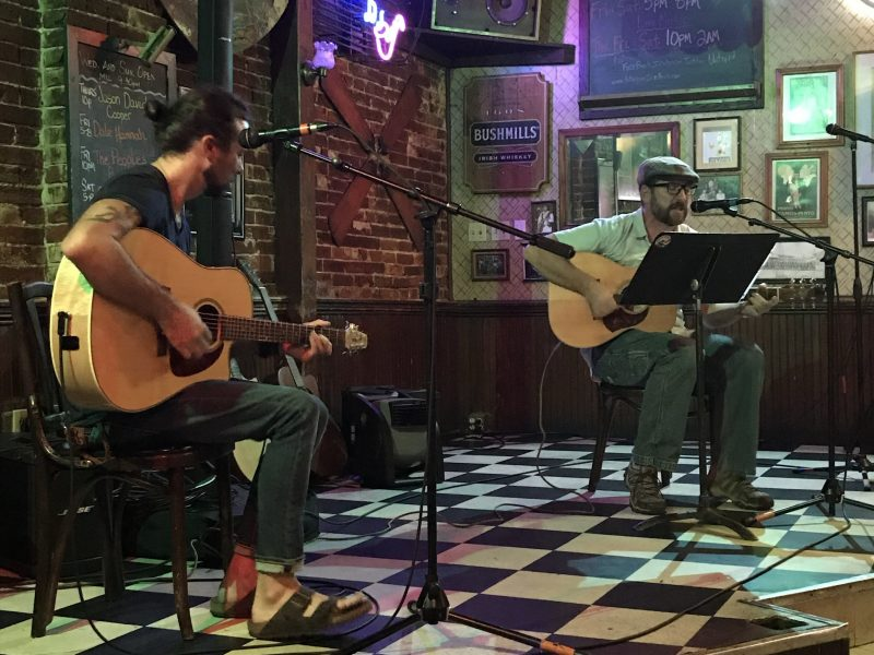 Trent Thrun & Ryan Warner at The Stagger Inn.