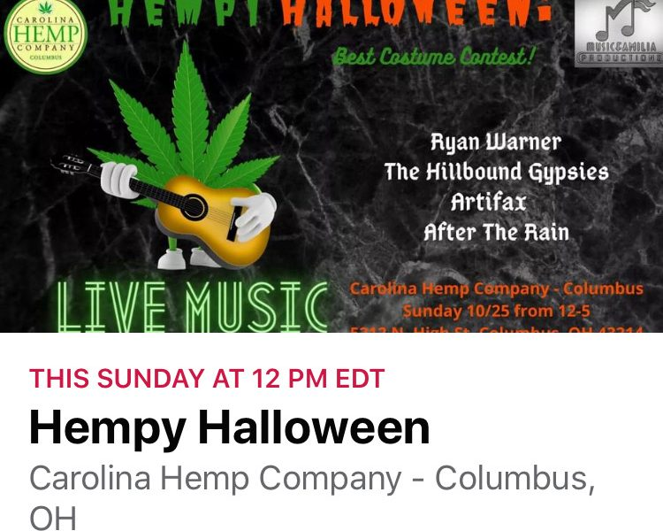 Ryan Warner @ the Carolina Hemp Company 10/25/20